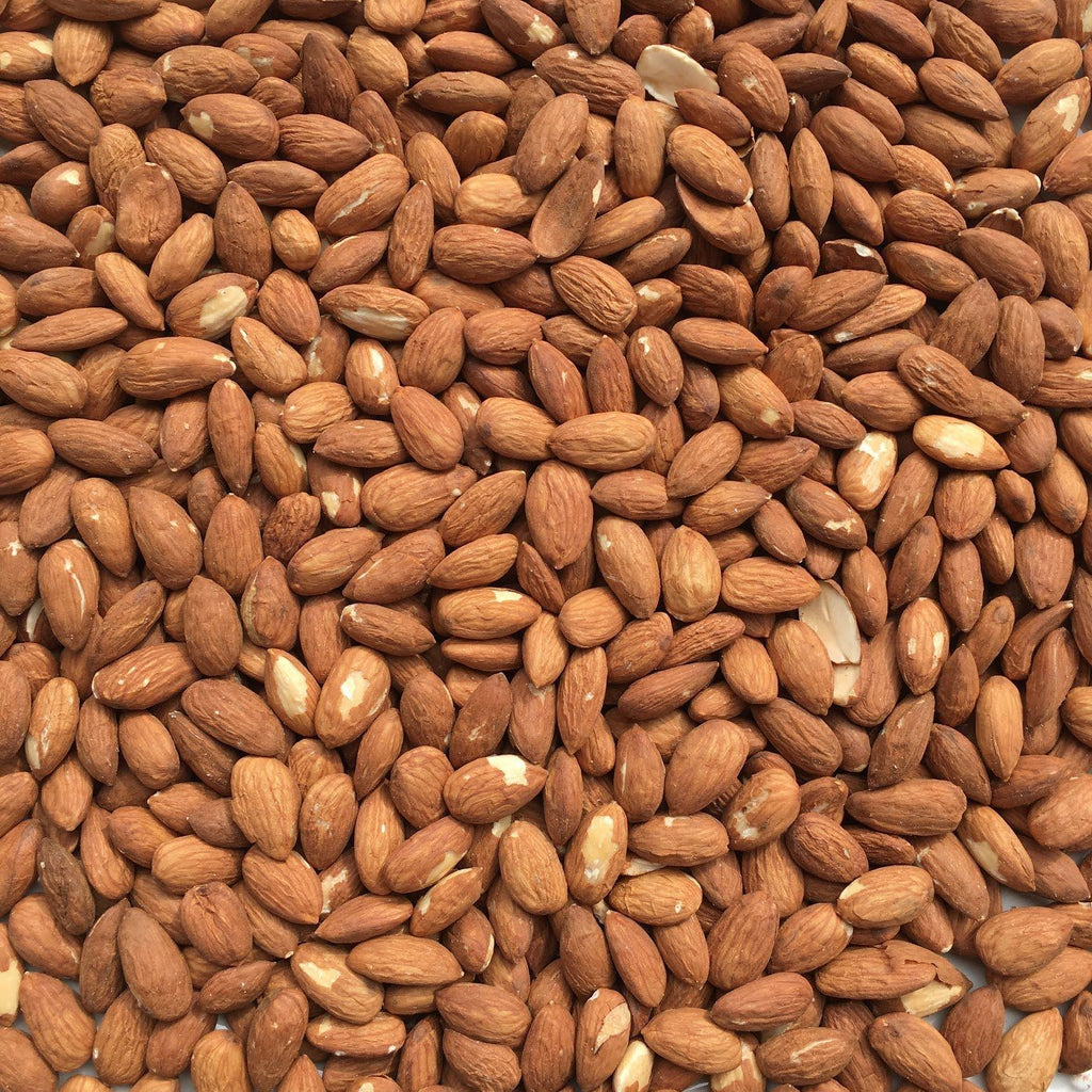 ALMONDS, California, sustainably grown, lightly roasted