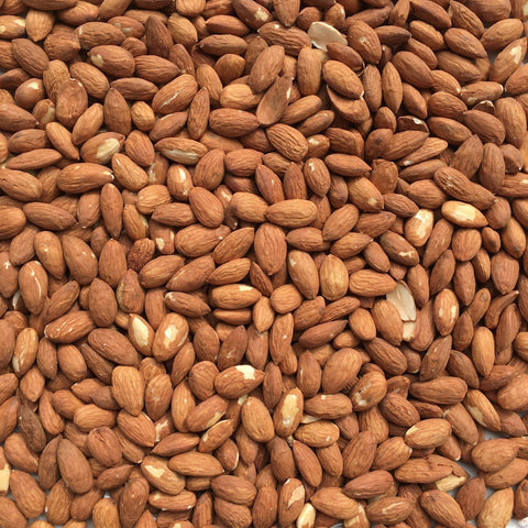 ALMONDS, California, sustainably grown, lightly roasted | Organic Matters