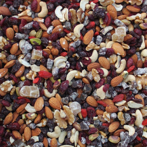 ORGANIC FRUIT & NUT TRAIL MIX | Organic Matters