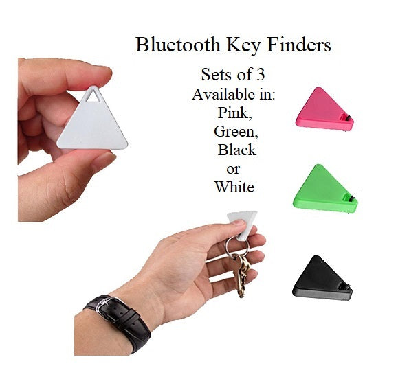 3 Pack Of Bluetooth Key Finders
