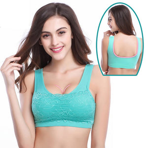 Quick Dry Travel Push-Up Bra Soft, Seamless, Breathable One-Piece Brassiere