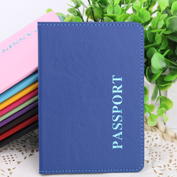 Protective Passport Cover - Available in 10 Colors!