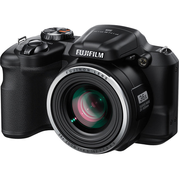 Fujifilm HD Digital S8600 Camera (Refurb'd) & Card-16 Million Effect. Pixels 36x Optical Zoom-ONLY 2 Left