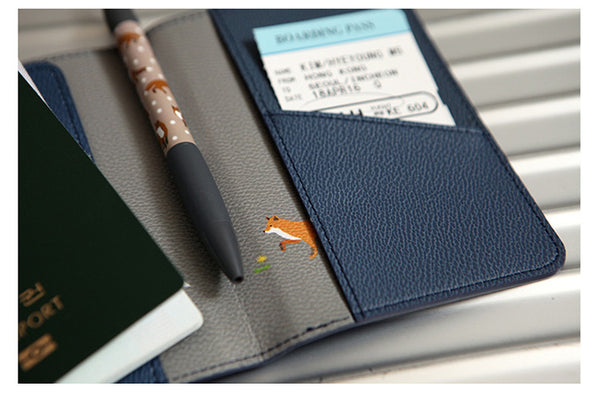 Passport Organizer Wallet - Keeps All Your Important Things Together When You Travel!