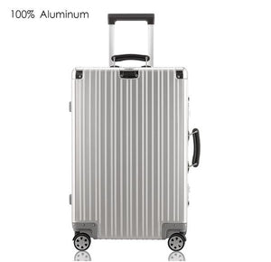 "100% Aluminum Hard Sided Rolling Luggage - Available in 20"" Carry-on, 25"" or 29"" Check-in"