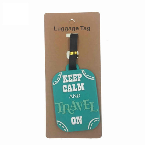 Fashion Gel Luggage Tag, Backpack ID Holder or Wedding Present Tag