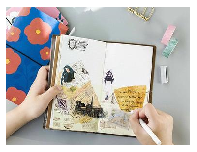 Decorative Diary Notebook Planner