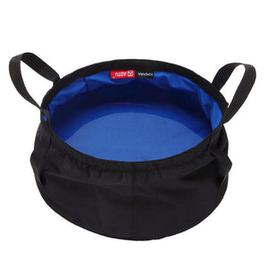 8.5L Collapsible Outdoor Wash Basin/Bucket is Portable for Camping, Hiking, Picnics, etc.
