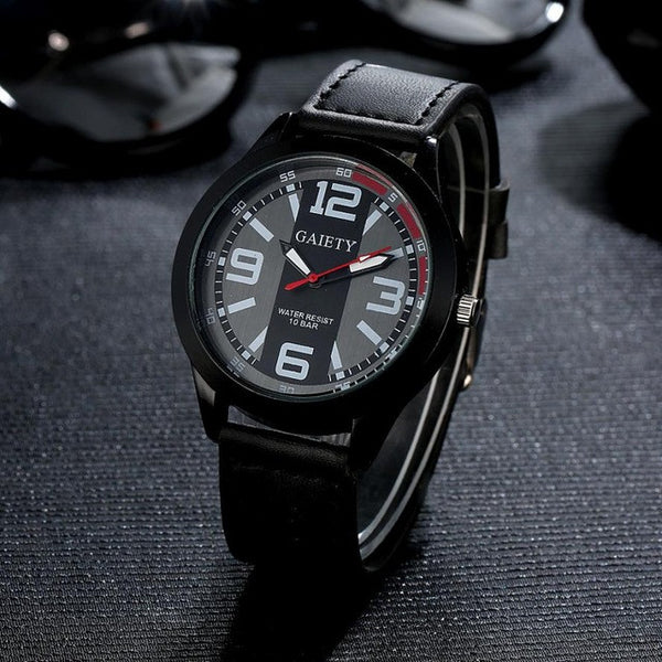 Mens Luxury Quartz Watch
