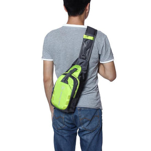 Mens Messenger Shoulder Bag - Ideal for Traveling & Biking!