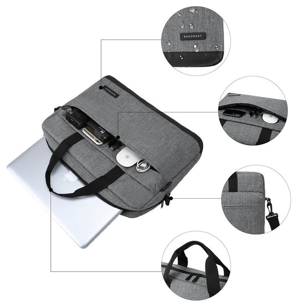 15.6 Inch Laptop Briefcase Bag