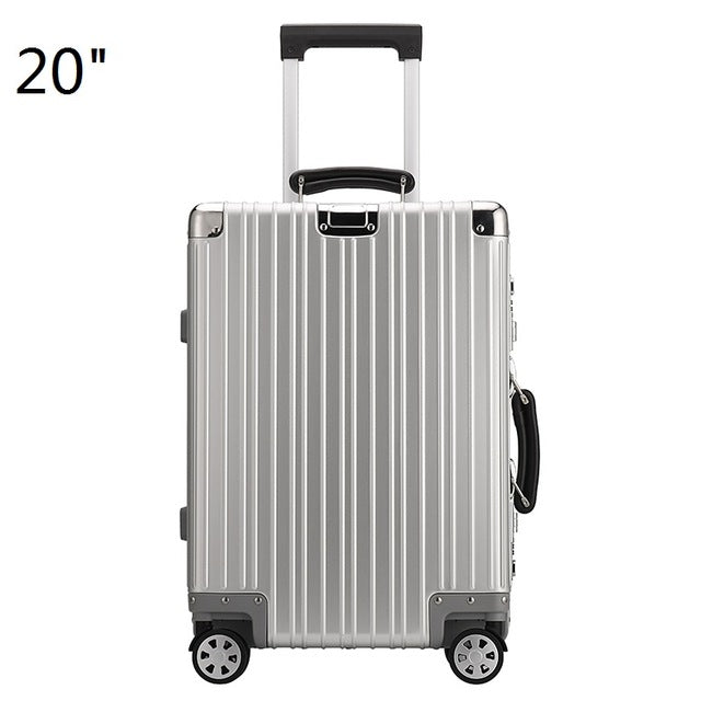 100 Aluminum Hard Sided Rolling Luggage Comes In 20 Carry On 25
