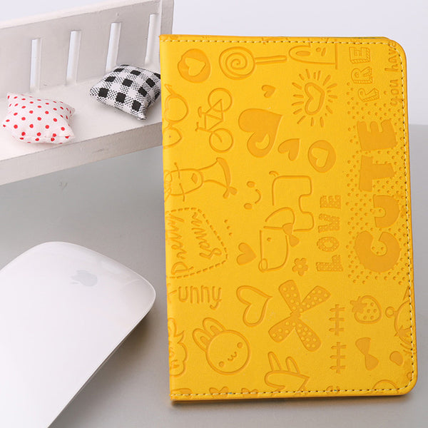 Cartoon Style Protective Passport Cover & Business Card Holder