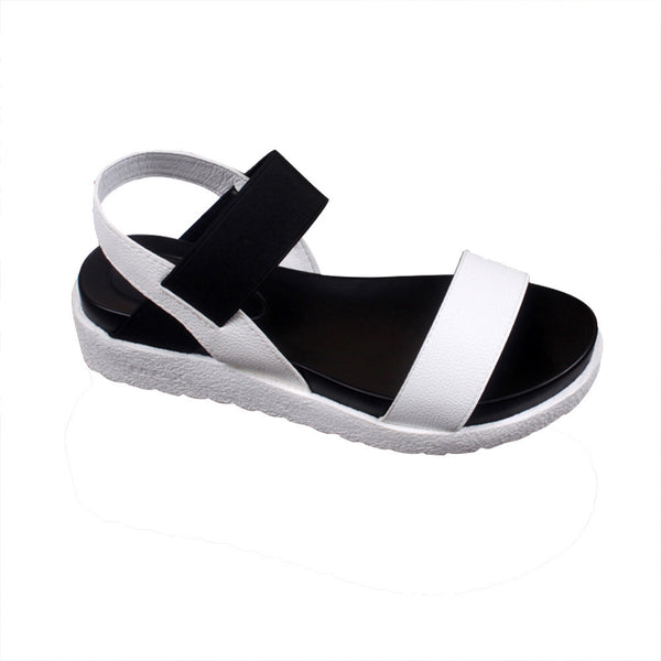 Womens Summer Sandals with Peep-Toe/Open Toe Fronts, Low & Easy to Walk In - Perfect for Traveling!