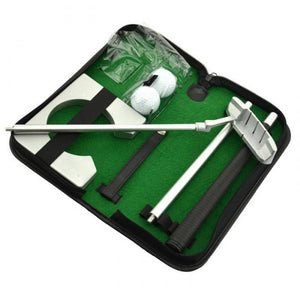 Portable Golf Training Set with Carrying Case