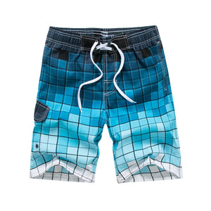 Quick-Dry Bermuda Beach/Board Shorts For Men