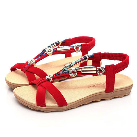 Ladies Summer Peep-Toe Roman Sandals