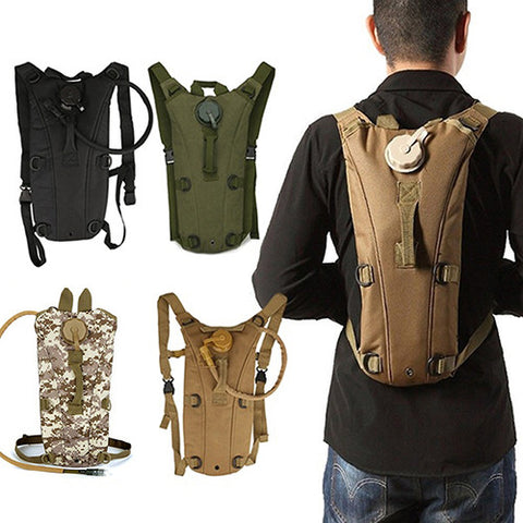 Hydration Backpack 2.5L/3L Water Bag Bladder Good For Outdoors, Hiking, Climbing, Riding, Etc.