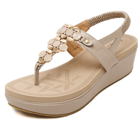 Comfortable Bling Summer Sandals