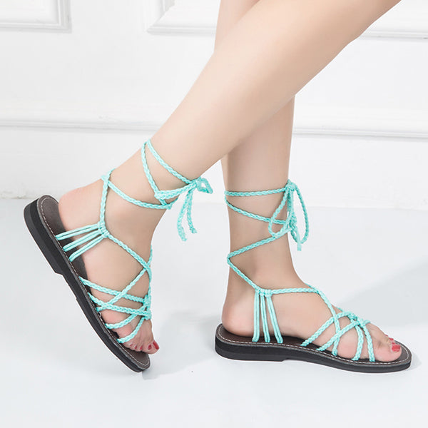 Gladiator Cross Strap Roman Summer Sandals
