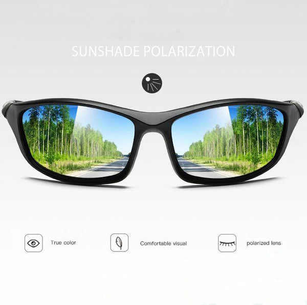 Polarized Impact Resistant Sports Sunglasses