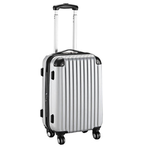 20'' Expandable Carry On Suitcase/Luggage With Quiet 360° Trolley Wheels