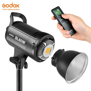 Eclairage LED Godox SL-60W 5600K + Kit
