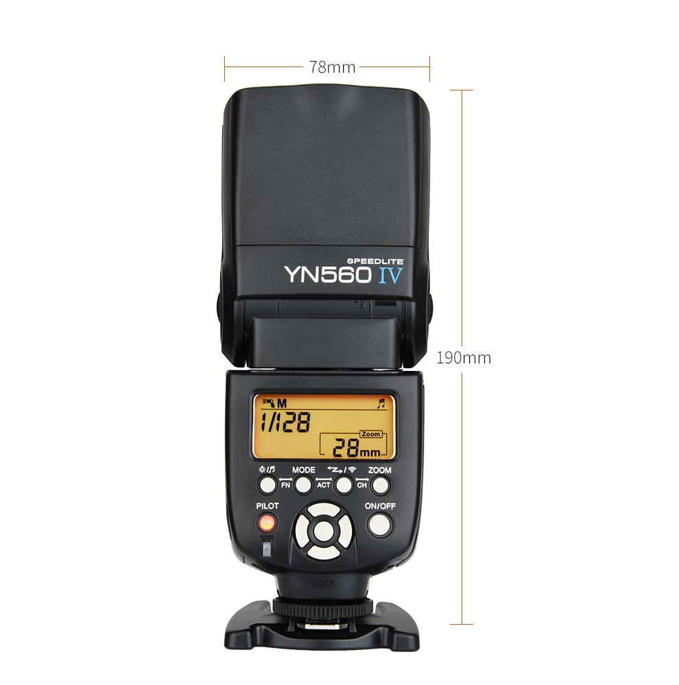 Flash Speedlite yongnuo YN560 IV 2.4G Wireless pour Nikon Canon sony...