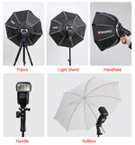 Softbox portable Triopo 90cm pour Flash Speedlite