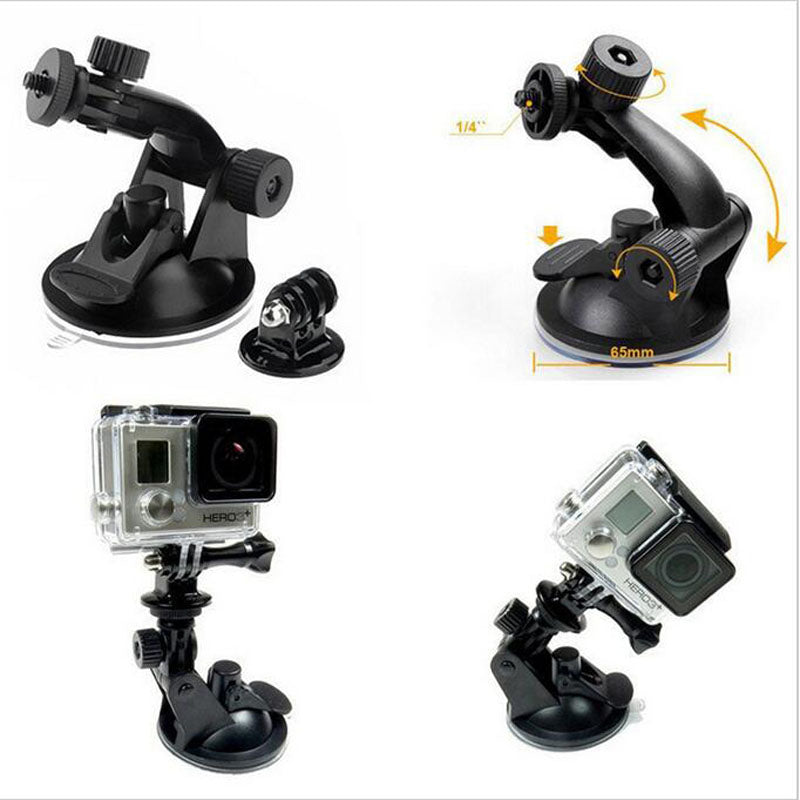 Support Vitre / voiture pour Gopro Hero 7 6 5 4 3