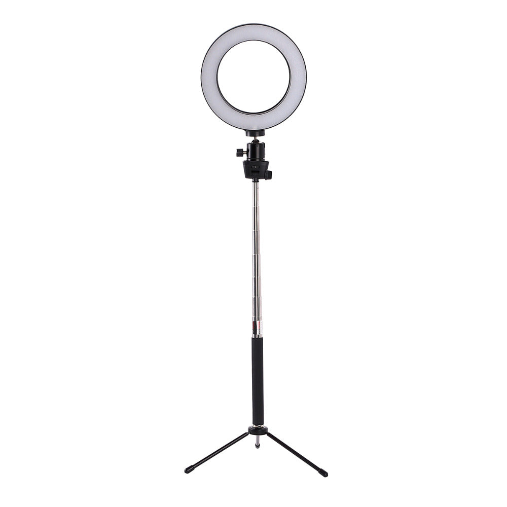 Anneau LED Lacyfans Dualled 5W 5500K + pied 124 cm
