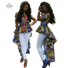 Women Plus Size Top X Long African Ruffle