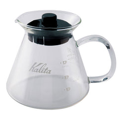 Kalita - Glass 500ml Server - إناء كليتا الزجاجي