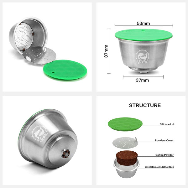 Refillable Coffee Capsule For Dolce Gusto