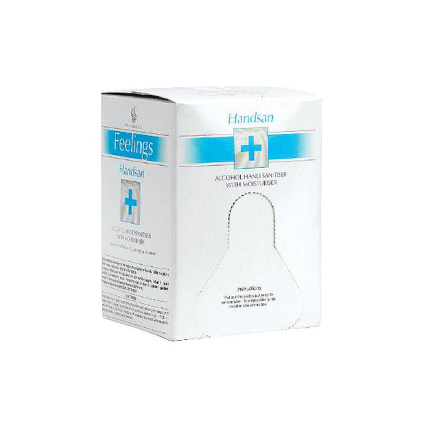 Alcohol Hand Sanitizer with Moisturizer 6x 800ml container - Handsan
