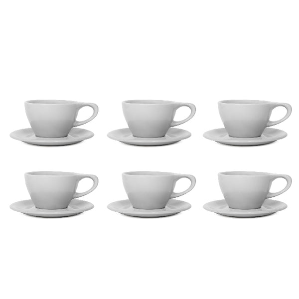 LINO Latte Cup Grey (Set of 6) - notNeutral - Specialty Hub