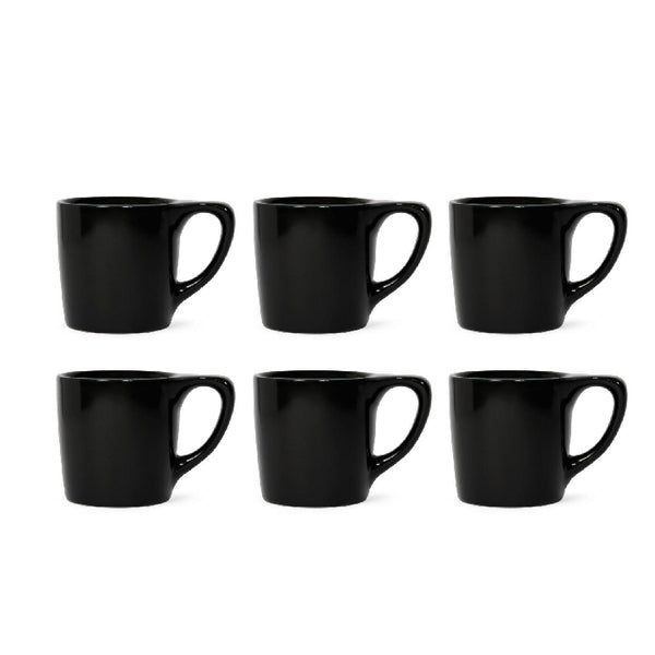 LINO Mug 10 oz  Black (Set of 6) - notNeutral - Specialty Hub