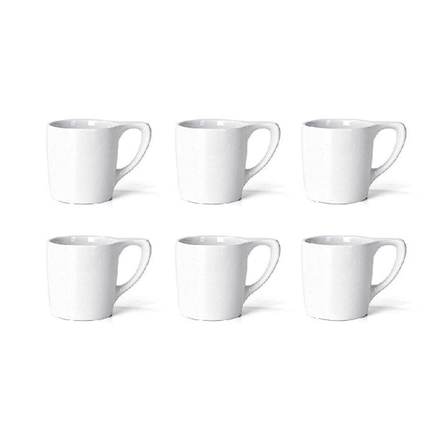 LINO White Mug 10 oz (Set of 6) - notNeutral - Specialty Hub