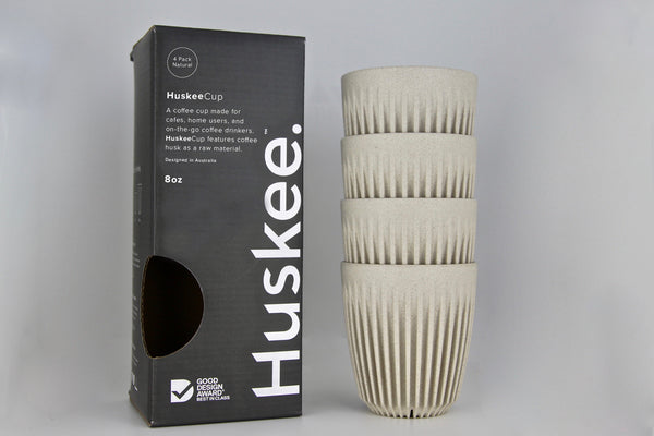 Huskee Cup Pack of 4 -8oz- هسكي  - طقم من أربعة اكواب