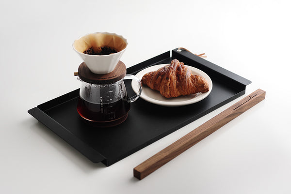 Line Tray Iron Edition Black - HOLZKLOTZ