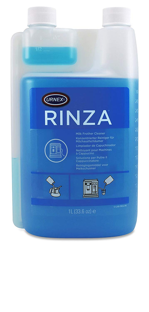 Urnex Rinza Acid Milk Cleaner Fluid, 1 Litre - منظف نظام تبخير الحليب