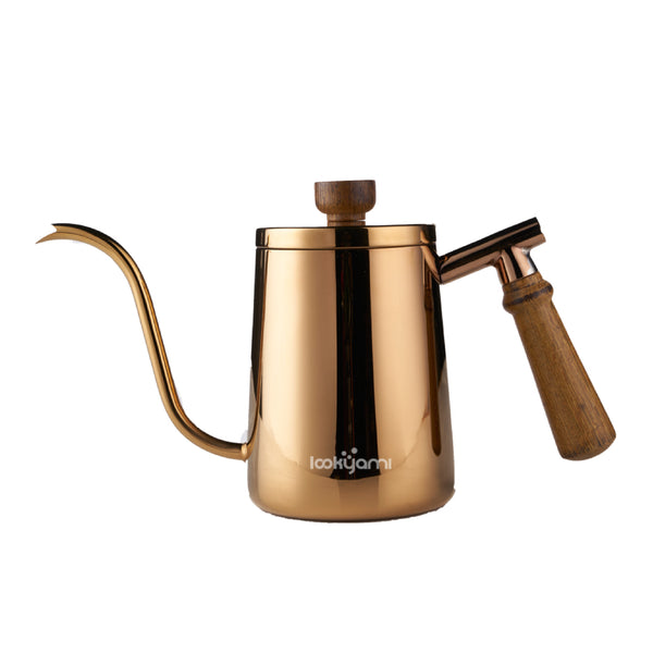 Gooseneck Kettle Gold 600ml