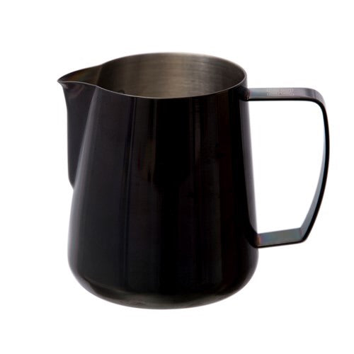 Space Black Barista hustle 400 ml pitcher - إناء تبخير الحليب