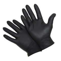 Black gloves medium size 1000 pcs