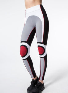 Women's Colorblock High-Waist Workout Leggings - ShE HAUTE FITNESS