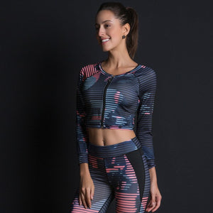 Women's Colorful 3-Piece Yoga Set - ShE HAUTE FITNESS