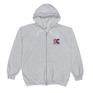 "Shepherds College ""SC"" Zip Up Sweatshirt"