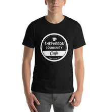 Shepherds Community Cafe Short-Sleeve Unisex T-Shirt - Black