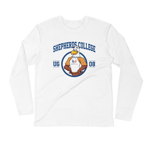 "Shepherds College ""Sherman"" Unisex Long Sleeve Fitted Crew"