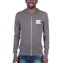 "Shepherds College ""SC"" Lightweight Unisex Zip Hoodie"